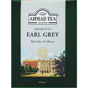 Ahmad Aromatic Earl Grey Tea 454Gr