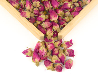 Pink Dried Rose Buds&Petals for Tea 2.4 oz (68g)