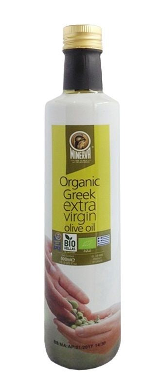 Minerva Organic Greek Extra Virgin Olive Oil 16.9 fl.oz. (500ml)