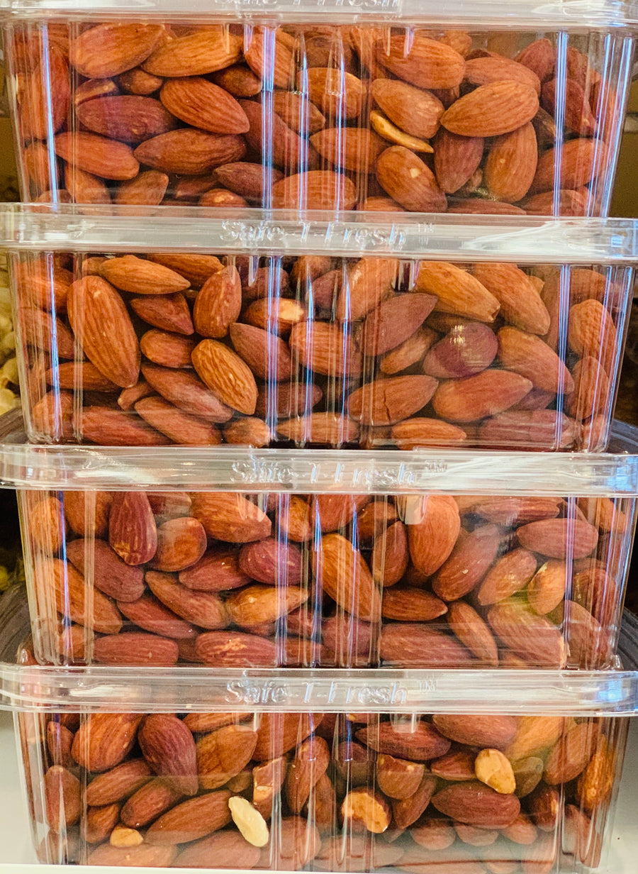 Lime Almonds 1LB #24