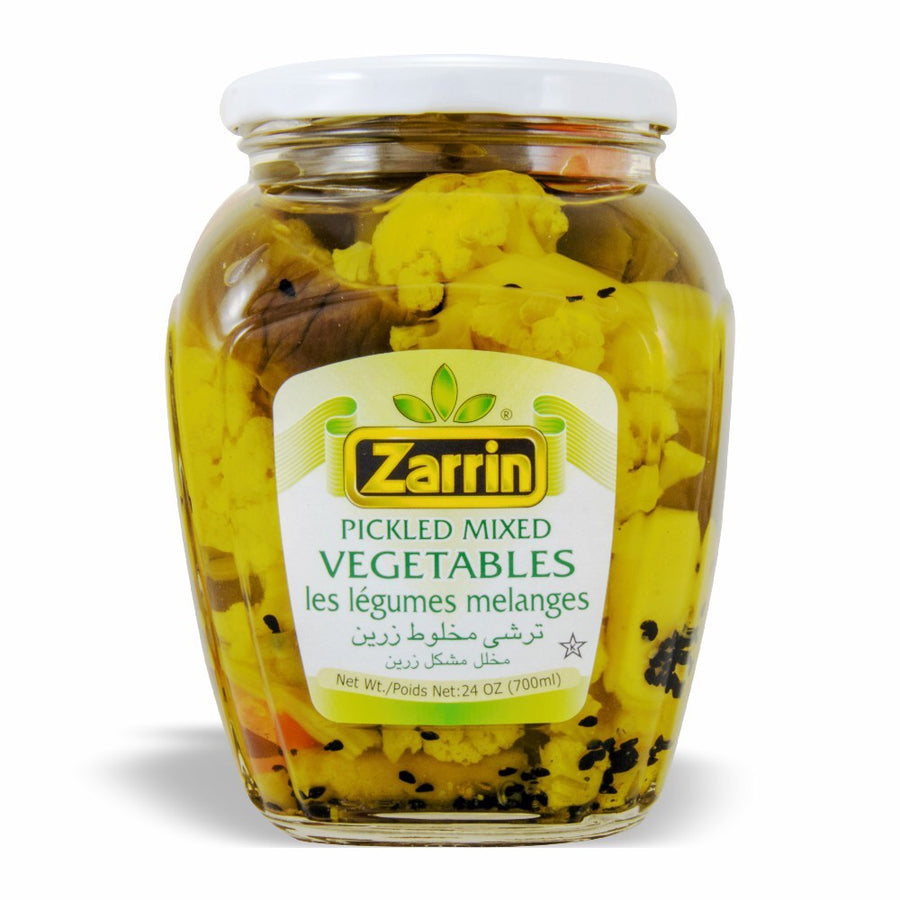 Zarrin Pickled Mixed Vegetables, Les Legumes Melanges 24 OZ