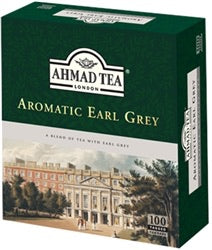 Ahmad Tea Aromatic Earl Grey -100 Tea Bags