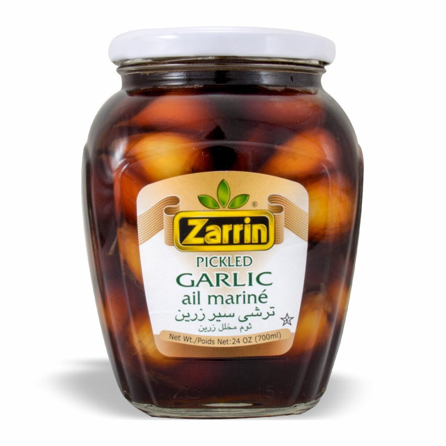 Zarrin Pickled Garlic Bulb Ail Marine 24 OZ