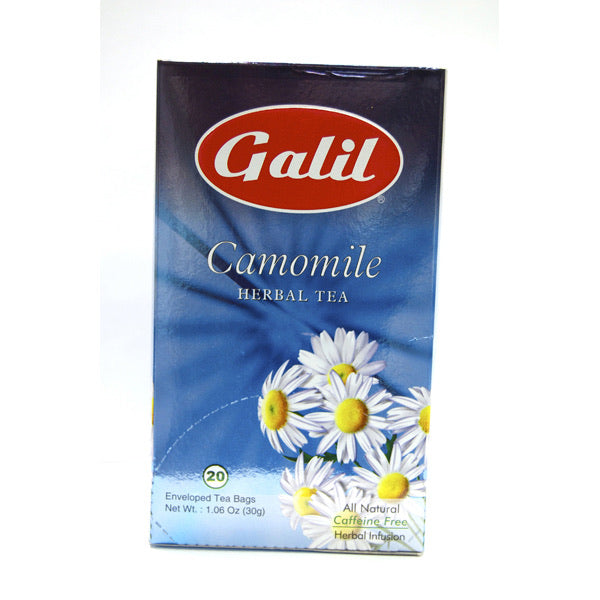 Galil Camomile caffeine free herbal tea