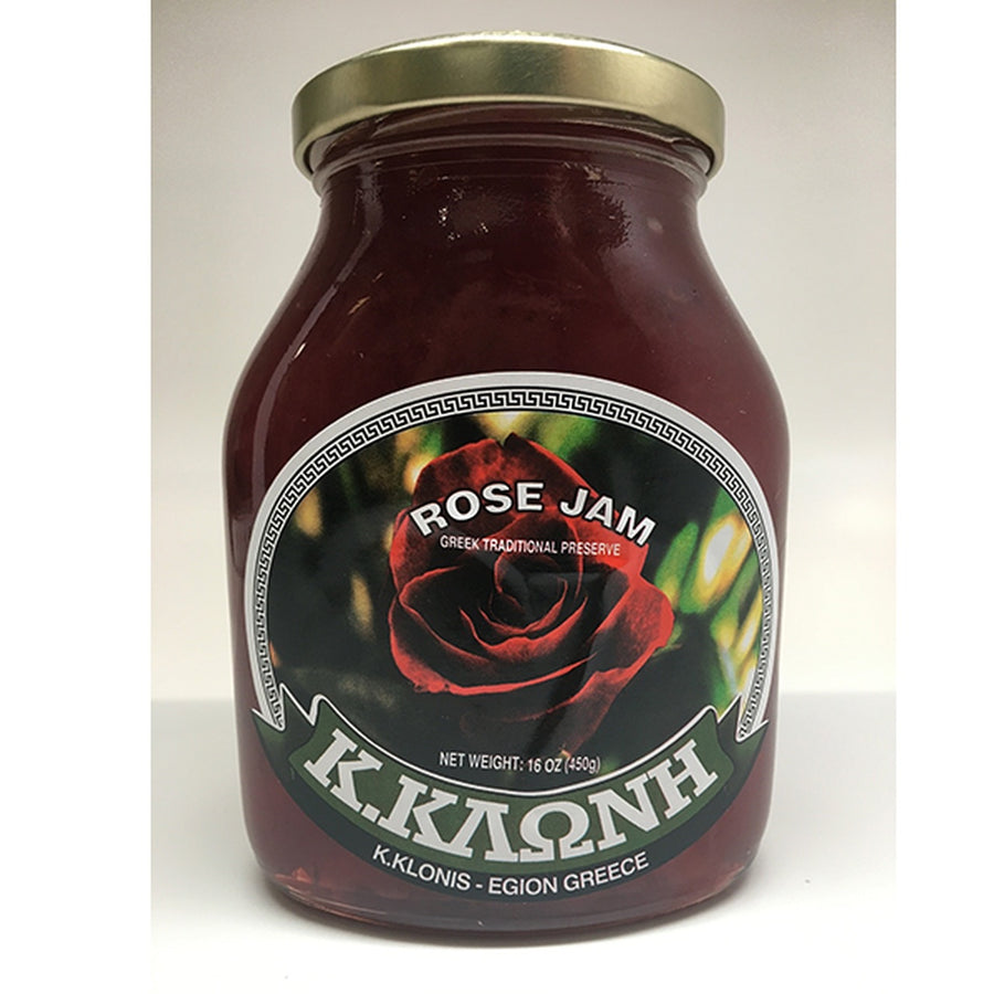 Rose Jam - Greek Preserve 16oz