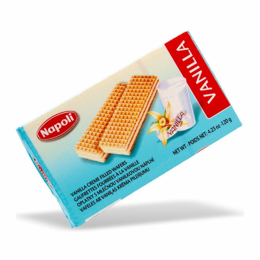 Napoli Vanilla Wafer 4.23 Oz. (120g)