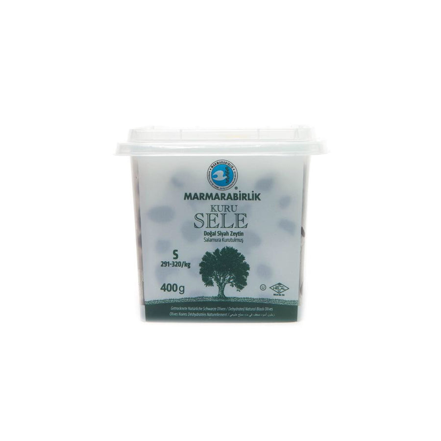 Marmarabirlik Dried Black Olives (S) 400g