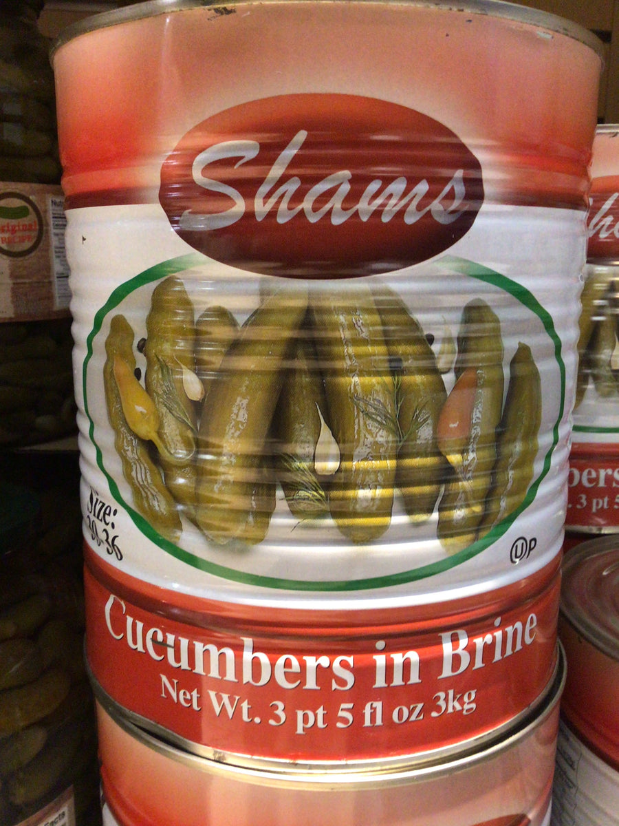 Shams Cucumbers in Brine 3 kg (Red)