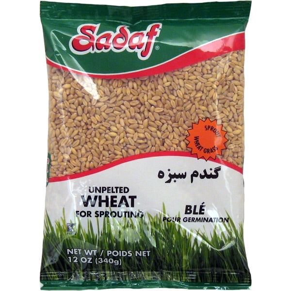 Sadaf Unpelted Wheat 12 OZ