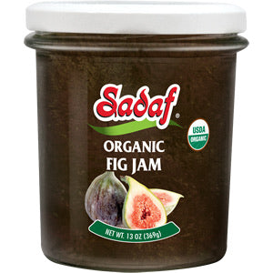 Sadaf Organic Fig Jam 13 OZ