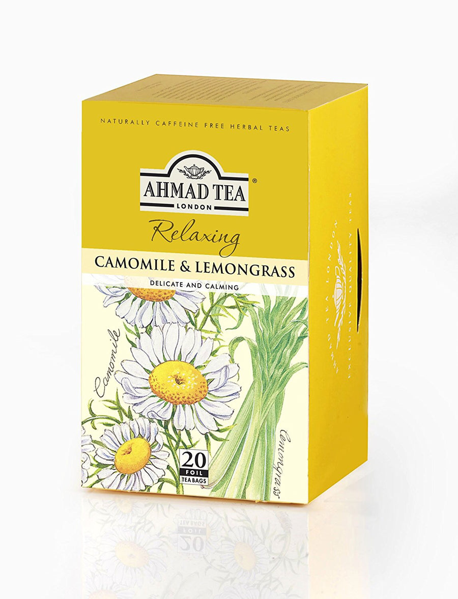 Ahmad Camomile Tea & Lemongrass 20 Tea Bags
