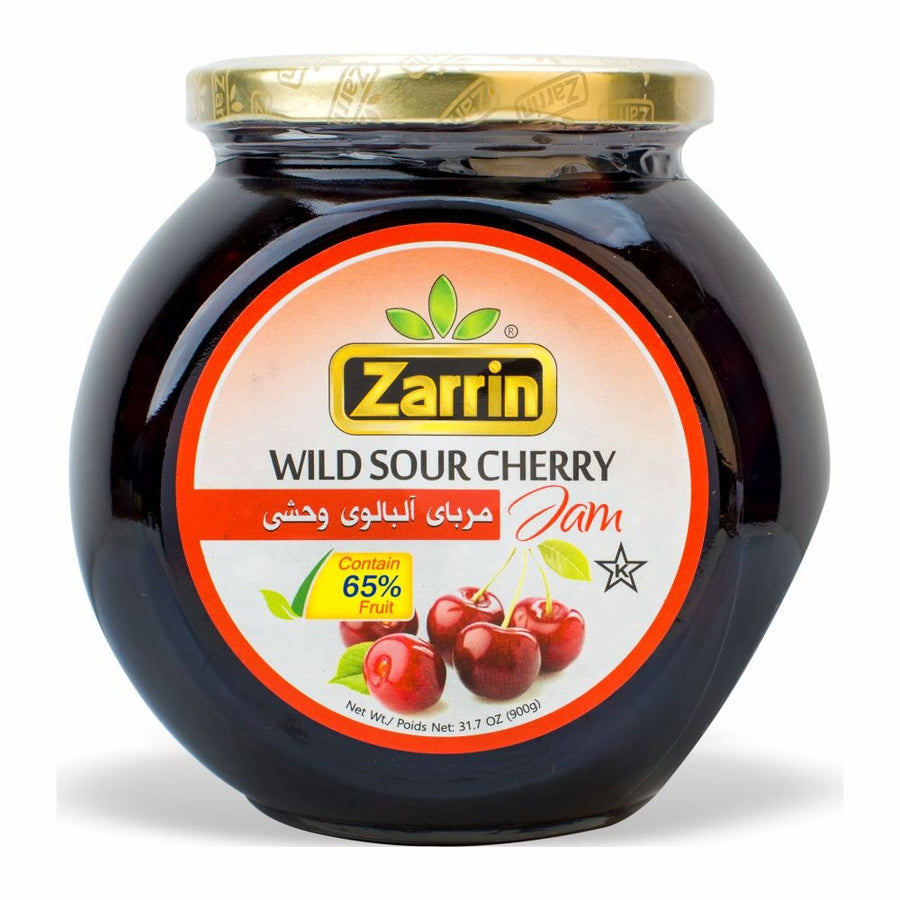 Zarrin Sour Cherry Jam Wild  31.7OZ