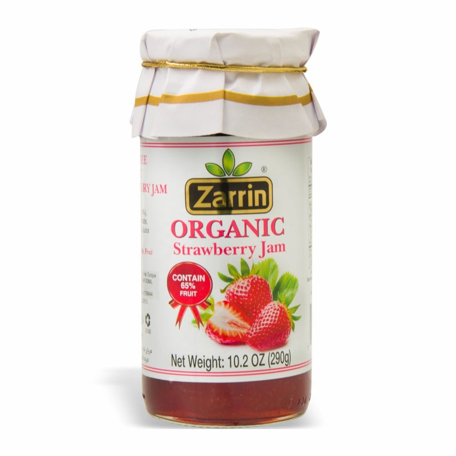 ORGANIC STRAWBERRY JAM ZARRIN 290 G