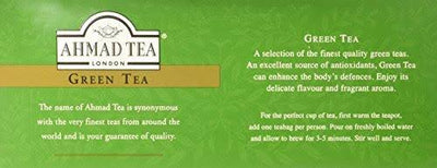 Ahmad Tea Green Tea 100T/B