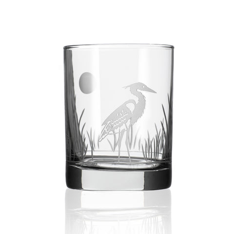 Heron Double Old Fashion - Set of 4