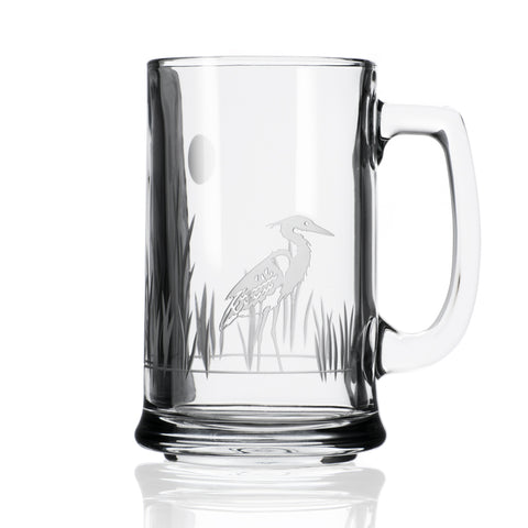 Heron Beer Mug - Set of 4