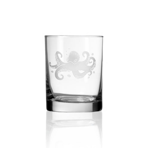 Octopus Double Old Fashion - Set of 4