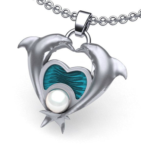 Heart of a Dolphin Necklace