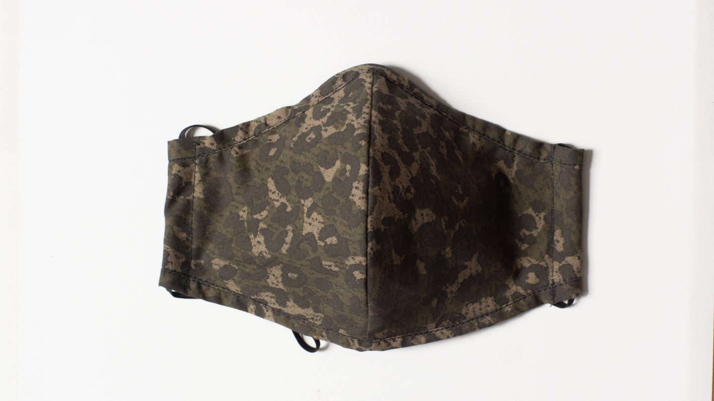 Digital Camo Print Mask