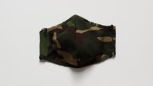 Load image into Gallery viewer, Classic Camo Print Kids Mask