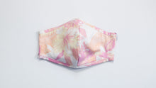 Load image into Gallery viewer, Faded Floral Print Fabric Mask
