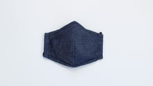 Load image into Gallery viewer, Denim Fabric Kids Mask