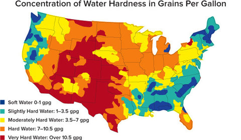 Media Assets From The Water Quality Unit USGS NAWQA Water Quality - Map of water quality in us
