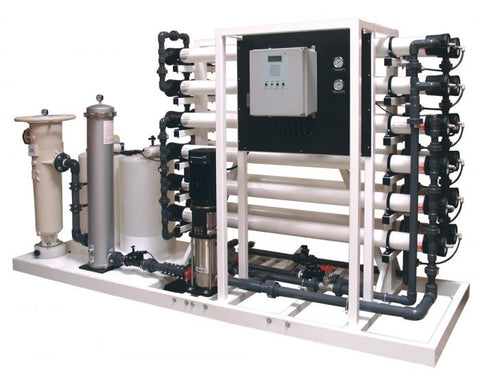 Commercial Reverse Osmosis for 40,000 Gallons Per Day