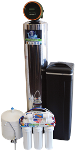 Alkaline Drinking Water & Reverse Osmosis Drinking Water Included + Hydronex iGen Water Softerner Installed at your home