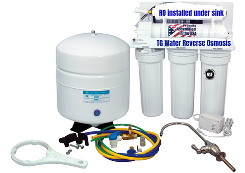 Reverse Osmosis (5 Steps Water Filtration System)