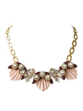 Pink Seashell Necklace - Crystalline