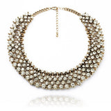 Classic Refinement Crystal wild Collar Fashion Necklace - Crystalline