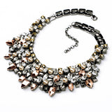 Vintage Jewelry Fashion Necklace - Crystalline