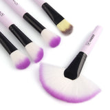 Soft Multicolor Makeup Brushes Set 32pcs Professional Cosmetic Powder Eyeshadow Lip Brush Tool - Crystalline