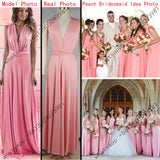 11 color 2016 summer sexy women maxi dress red bandage long dress sexy Multiway Bridesmaids Convertible Dress robe longue femme - Crystalline