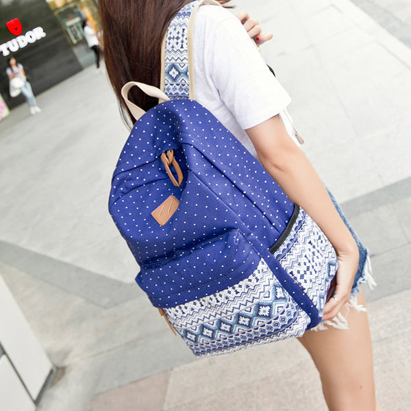 e05f27f6ee ♡ Ethnic Backpack for School Teenagers Girls Vintage Stylish ♡
