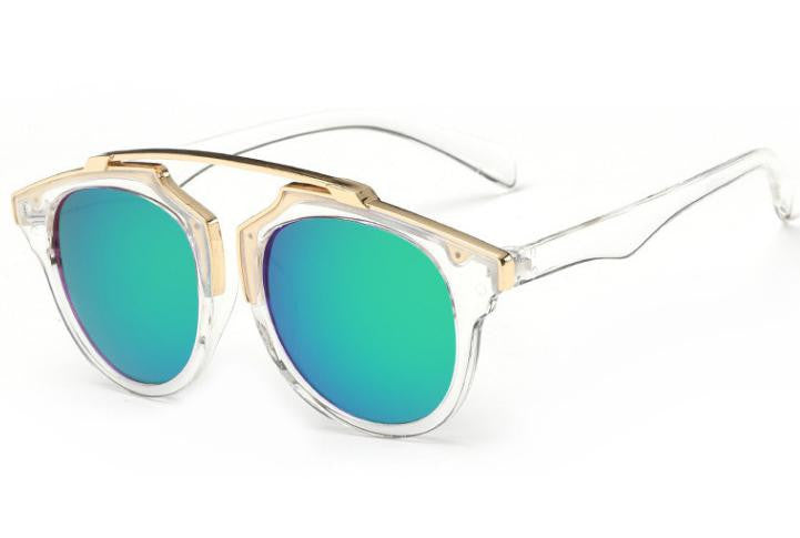 ≫∙∙ Trendy Summer Sunglasses Retro Designer Inspired Cat Eye ∙∙≪ - Crystalline