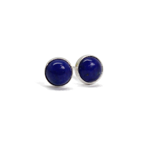 Lapis Stud Earrings,