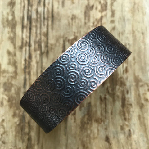 A simply beautiful copper cuff