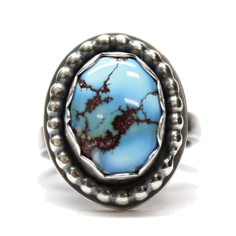 Golden Hills Turquoise Ring Size 5.75 US