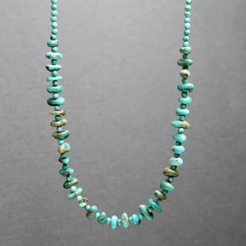 Genuine Turquoise Necklace Adjustable to 18 Inches