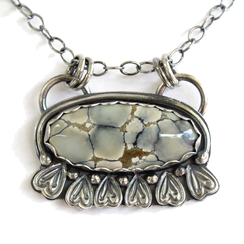 Ivory Creek Turquoise Pendant Necklace