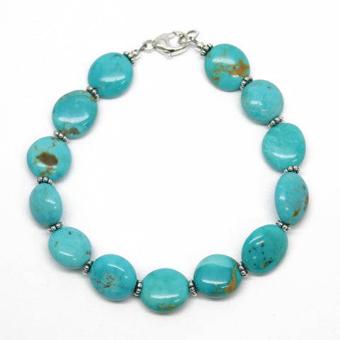 Kingsman Turquoise Bracelet, 7.25 Inches