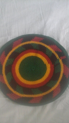 Knitted Rasta Hat