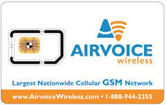 AirVoice Wireless Sim Card