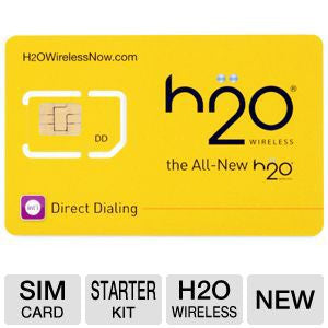 H20 wireless sim Card