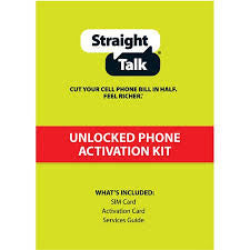 Straight Talk Sim Card Activation Kit