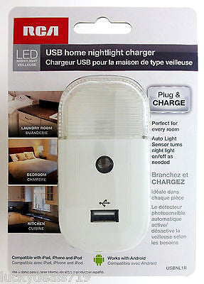 USB Home Nightlight Charger