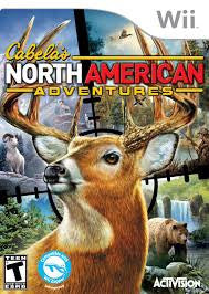 WII Cabela's North American Adventures