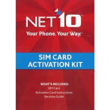 Net 10 Sim Activation kit